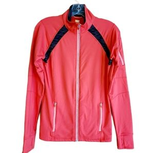 Lucy | Women's Pink Full Zip Jacket (Size Small)